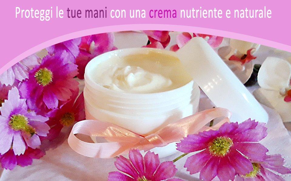 Crema mani nutriente