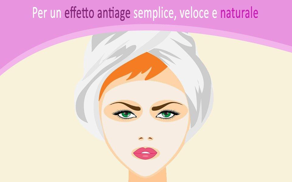 maschera nutriente antiage