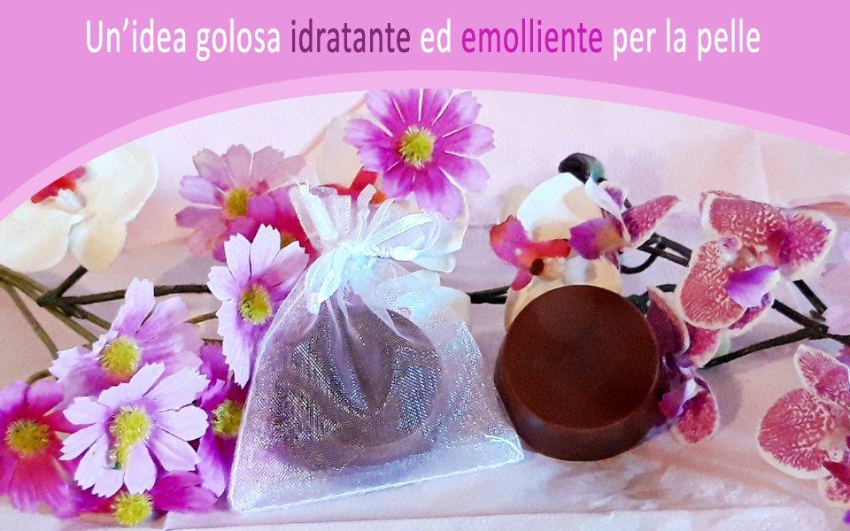 cosmetici fai da te da regalare : cioccolatini da bagno