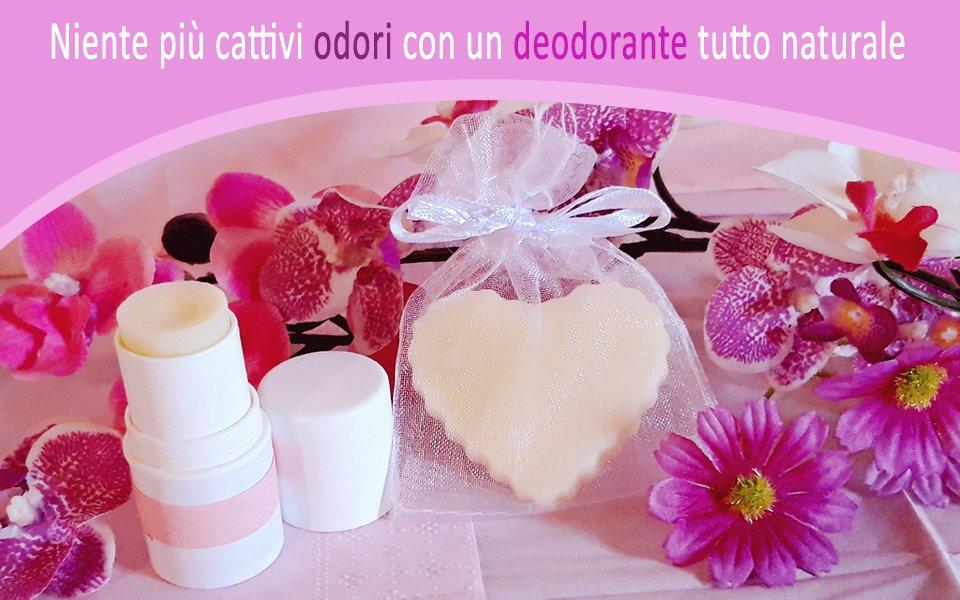Deodorante fai da te all'Olio di Cocco, Tea Tree e Lavanda