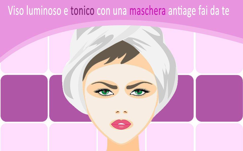 Maschera anti age fai da te alla salvia e rosa